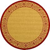 Courtyard Rug CY2099 Natural Red