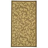 Courtyard Rug CY2653 Natural Brown