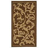 Courtyard Rug CY2653 Brown Natural