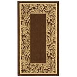 Courtyard Rug CY2666 Brown Natural