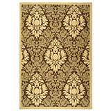 Courtyard Rug CY2714 Brown Natural