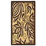 Courtyard Rug CY2961 Natural Brown
