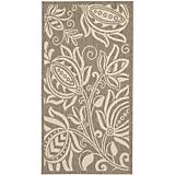 Courtyard Rug CY2961 Brown Natural