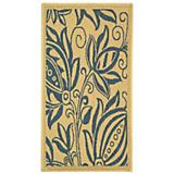 Courtyard Rug CY2961 Natural Blue