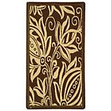 Courtyard Rug CY2961 Chocolate Natural
