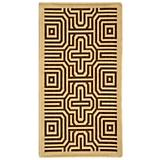 Courtyard Rug CY2962 Natural Brown