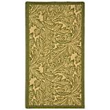 Courtyard Rug CY2996 Natural Olive