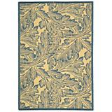 Courtyard Rug CY2996 Natural Blue