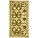Courtyard Rug CY3040 Natural Olive