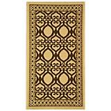 Courtyard Rug CY3040 Natural Brown