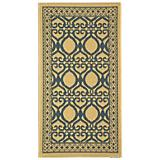 Courtyard Rug CY3040 Natural Blue