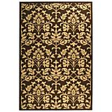 Courtyard Rug CY3416 Chocolate Natural