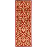 Courtyard Rug CY3416 Red Natural