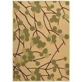Courtyard Rug CY4037A Natural