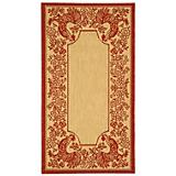 Courtyard Rug CY3305 Natural Red
