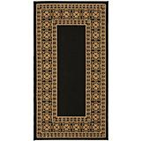 Courtyard Rug CY5140G Black Coffee