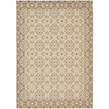 Courtyard Rug CY6550 Creme Brown