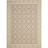 Courtyard Rug CY6550 Brown Creme