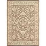 Courtyard Rug CY6555 Brown Creme