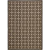 Courtyard Rug CY6564 Chocolate Cream