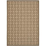 Courtyard Rug CY6564 Brown Creme