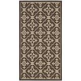 Courtyard Rug CY6565 Cream Chocolate