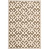Courtyard Rug CY6915 Brown Bone