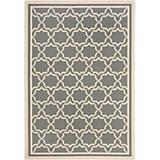 Courtyard Rug CY6916 Anthracite Beige