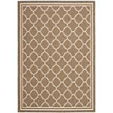 Courtyard Rug CY6918 Brown Bone