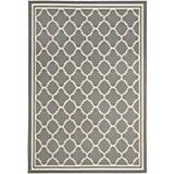 Courtyard Rug CY6918 Anthracite Beige