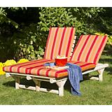 Double Chaise Lounge Chair