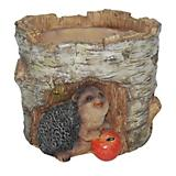 Hedgehog Polyresin Planter