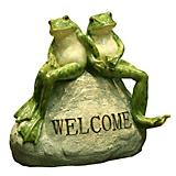 Welcome Frog Statuary