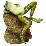 Frog Relaxing Statuary
