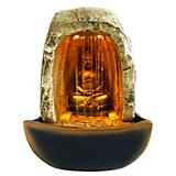 Tabletop Buddha Fountain with LED Lights