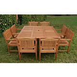 Amazonia Milano Porto Square Table Set