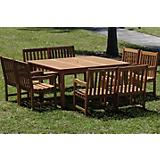 Amazonia Milano Deluxe Square Table Set