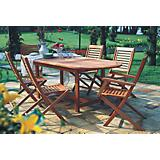 Amazonia Milano Extendable 7 Piece Set