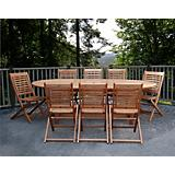 Amazonia Milano Grand Extendable Table Set