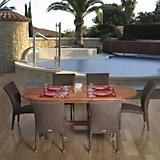 Amazonia Le Mans 7 Piece Dining Set