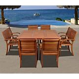 Amazonia Arizona 9Pc Eucalyptus Dining Set