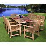 Amazonia Teak Newcastle 9 Piece Teak Dining Set