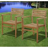 Amazonia Teak Coventry Teak Stacking Chairs