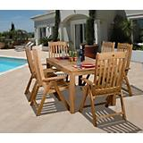 Amazonia Teak Bucarest 7 Piece Teak Dining Set