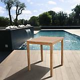 Amazonia Teak Eden Teak Bar Table