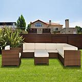 Atlantic Marseille Sectional 8Pc Set