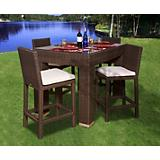 Atlantic Monza 5Pc Bar Set Rectangular