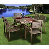 Atlantic Glasgow 7Pc Dining Set