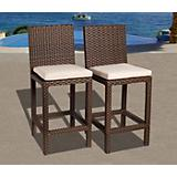 Atlantic Monza Barstools Set 2Pc