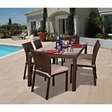Atlantic Liberty Classic Dining Set 7Pc